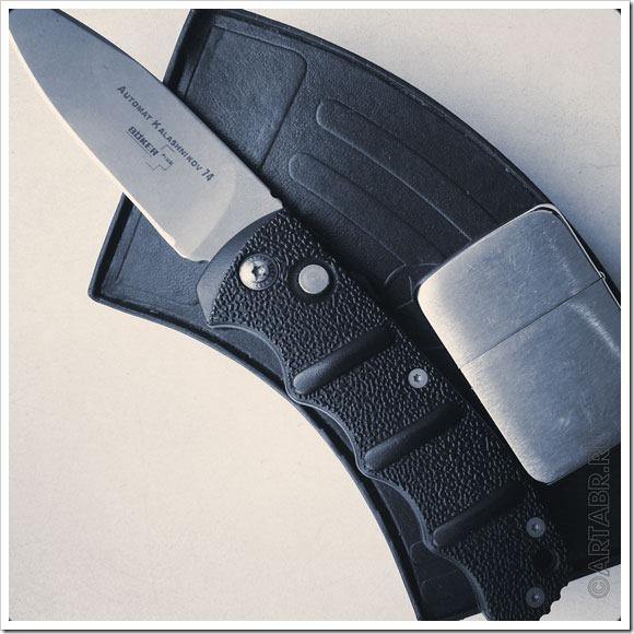 Нож должен рубить гвозди