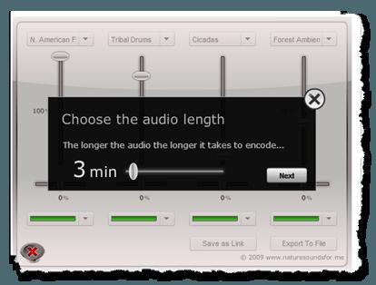 звуки природы онлайн
