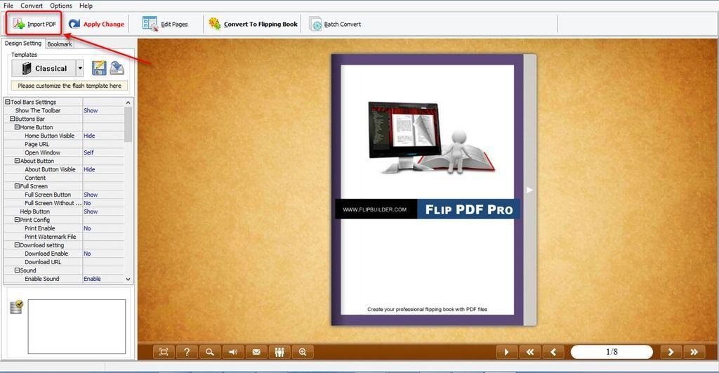 Как сделать перелистывание книги фото 976