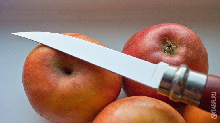 Заточка ножа. Нож филейный.