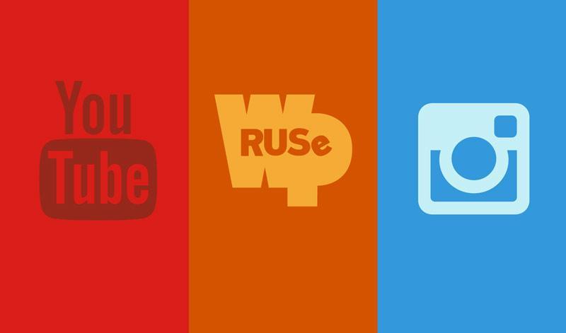Сайт WPRUSe, канал на YouTube, мой инстаграмм и немного ножевых фоток